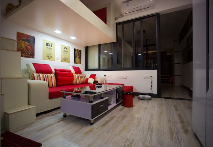 舒适前沿的loft单身公寓,等你来造