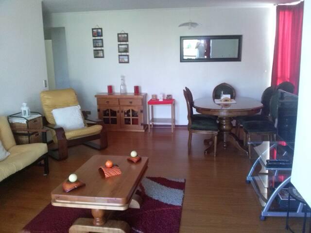ofrezco cómoda habitación privada - Las Condes - ที่พักพร้อมอาหารเช้า