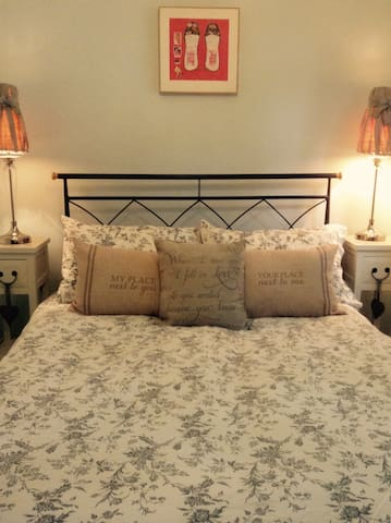 Cosy separate double room