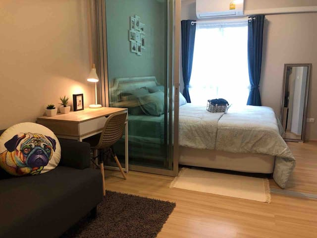 Nice room 7 km from Don Mueang Airport (DMK)