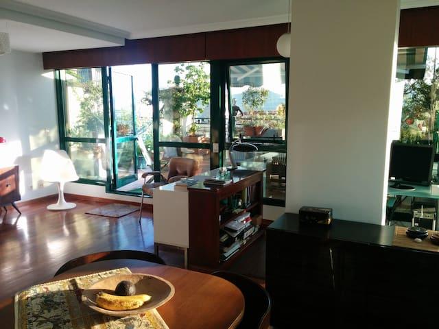 Habitación cómoda y tranquila. Terraza vistas - Виго - Квартира