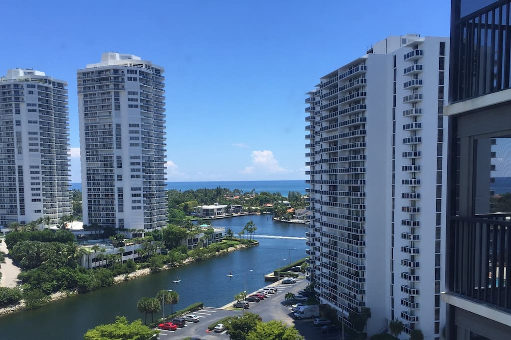 Ocean and intracoastal view