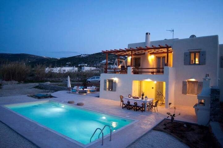 Luxury villa Parasporos with pool - paros - Villa