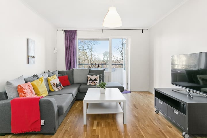 Bright 60sqm apartment & nice view - Stockholm  - Wohnung