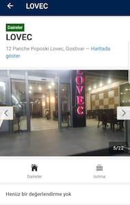 LOVEC Apartman 1+0 no:305