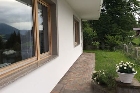 Friendly apartment - wonderful view over Wörgl - Wörgl - Appartement