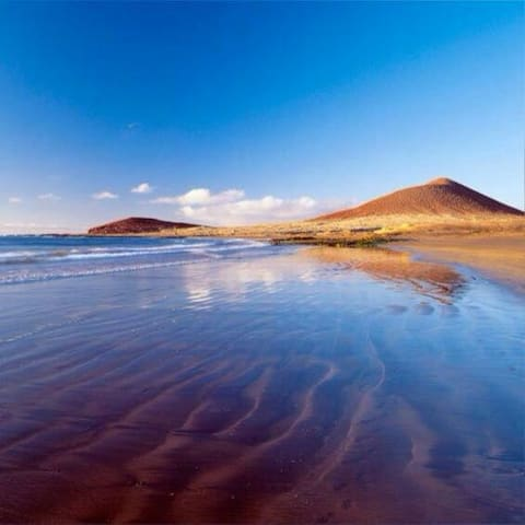 Apat a 100 metros d la Playa.Parking,Solarium.Wifi - El Médano - Flat