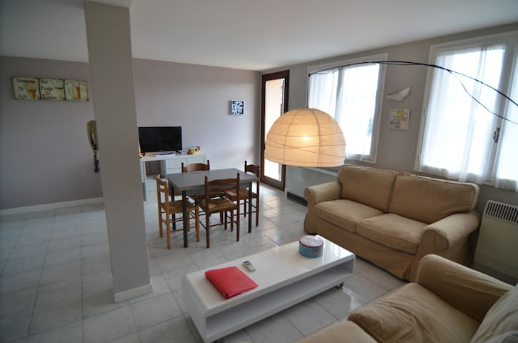 Lovely and quiet flat with garden and terrace