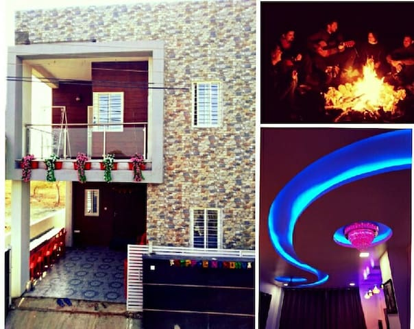 PRIVATE BUNGALOW FOR PARTY/STAY @NR Wagholi, Pune