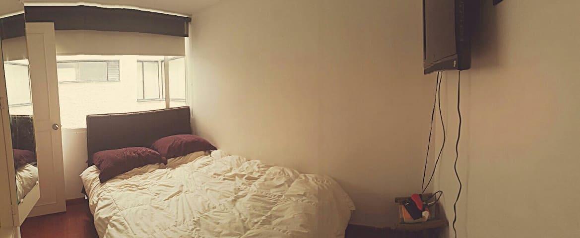 Room Chapinero Alto Bogota - Bogotá - Lägenhet