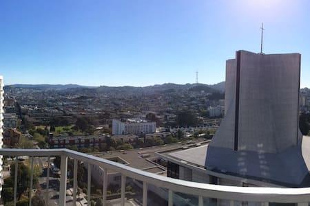 Big VIEWS!  1-BR Central SAN FRANCISCO location - San Francisco - Apartment