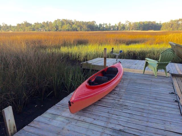 Creek View of marsh and sky - Wilmington - Wohnung