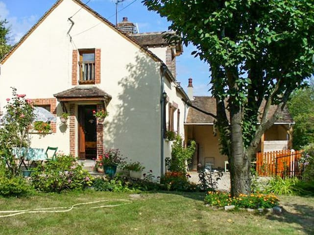 Traditional house near vineyard - Villeuneuve sur Yonne - Dům