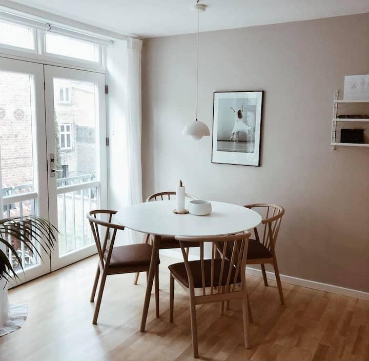 Charmerende lejlighed i hjertet af Aarhus