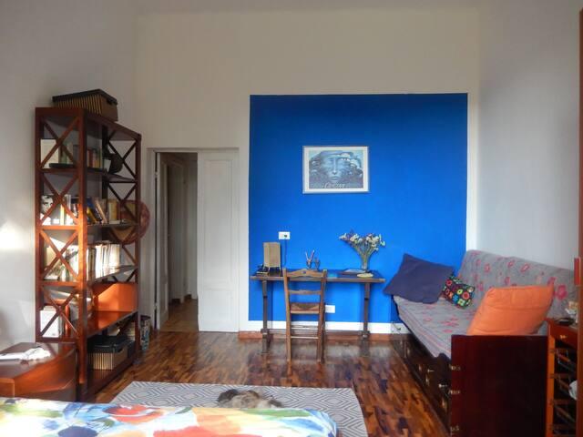 Camera con scrivania, in aggiunta un letto singolo spazioso e comodo