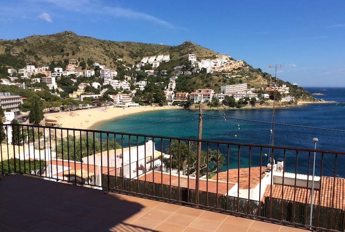 2 bedroom apartment, 24sq/m balcony great sea view - Roses - Appartement