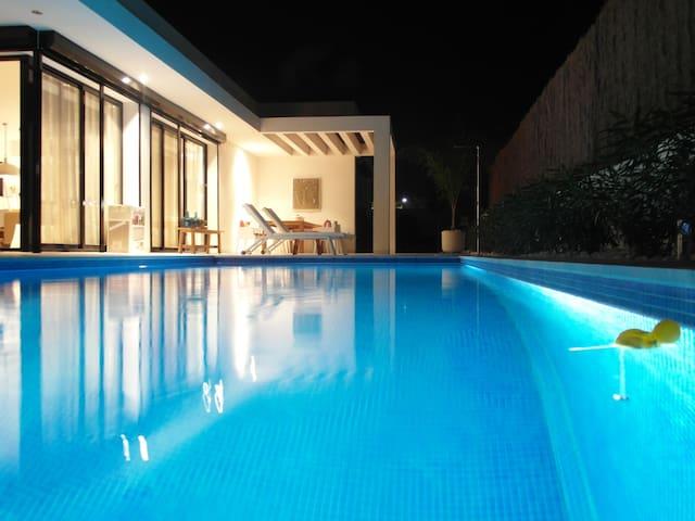 Casa Zilt, privé zwembad, La Marina - San Fulgencio - Hus