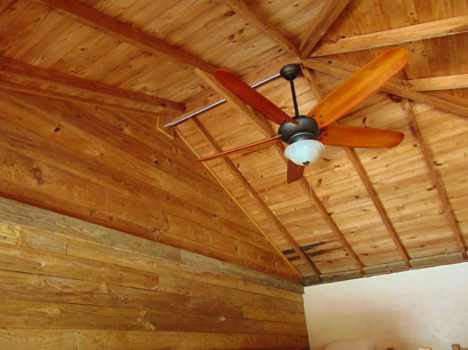 Both Bunkhouses have AC/Heat and Ceiling Fans