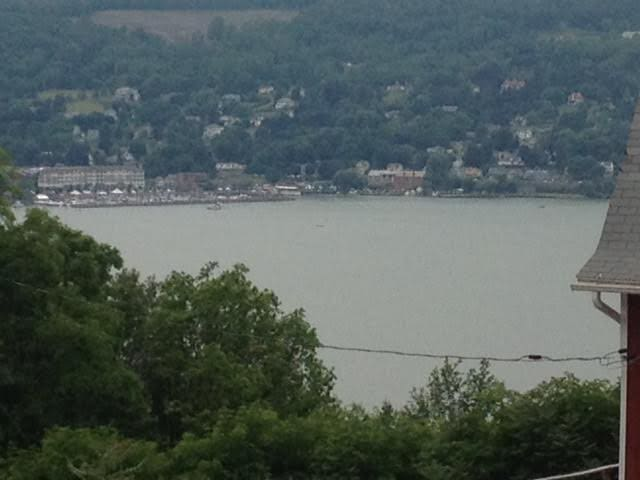 views from the property. The harbor in Watkins Glen, NY
