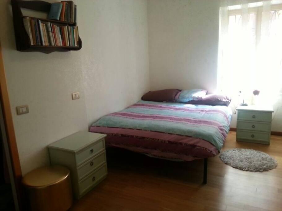 camera doppia con bagno privato / double room with private toilette
