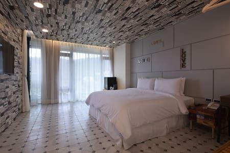 涵煙-沐光 精緻舒適的客房 - Yuchi Township