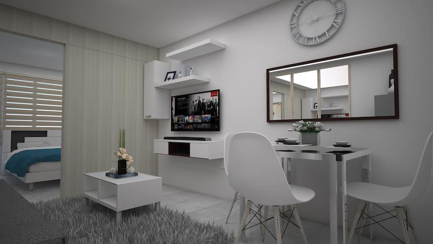JMB Wind Residence Tagaytay (Brandnew + Netflix)