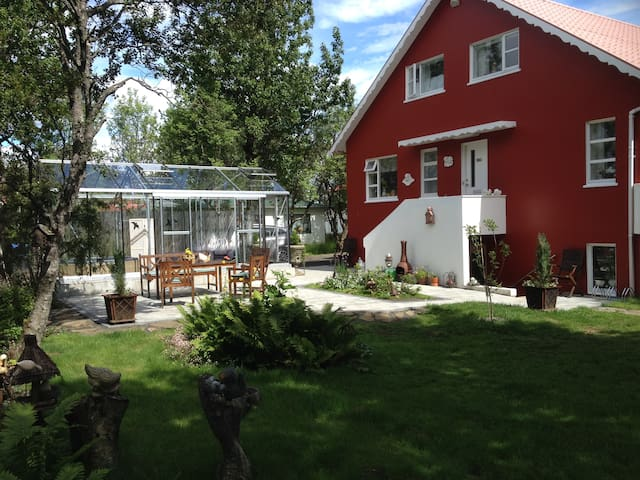 Wonderful  villa in the downtown of Selfoss.