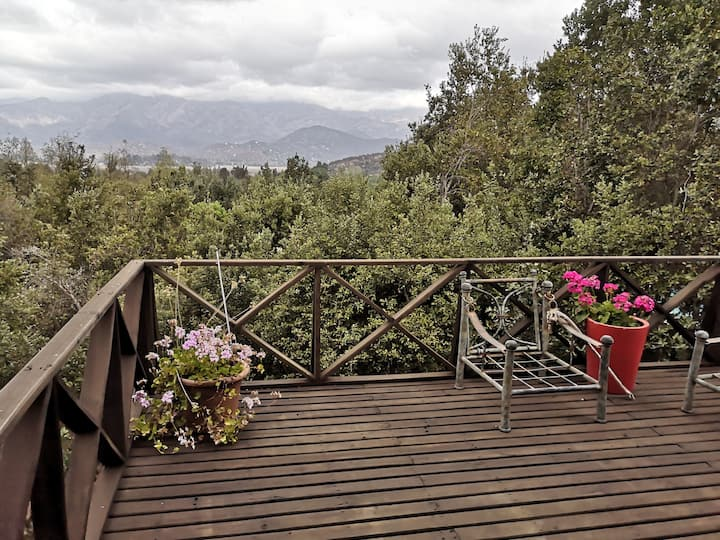 Casa entorno campestre, laguna Aculeo