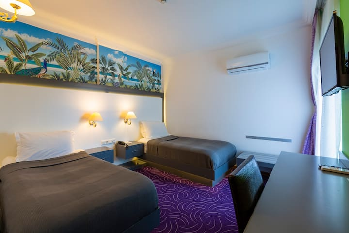 Standard Twin Room Non-Refundable Rate-Bed and Breakfast 2 Pax