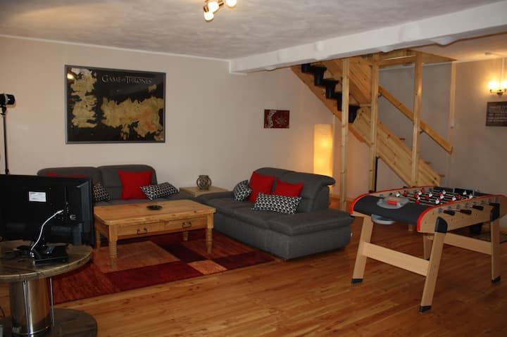 """einzigartiges Ferienhaus """"Freiraum"""" auf 160 qm"""