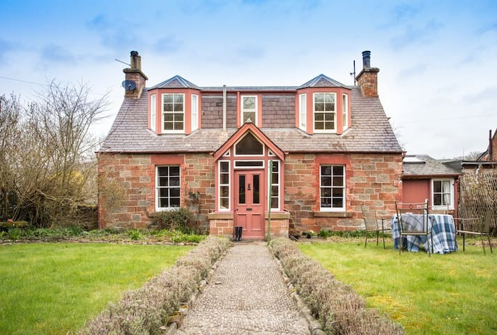 Delightful Hawthorn Cottage near Melrose - Scottish Borders - Σπίτι