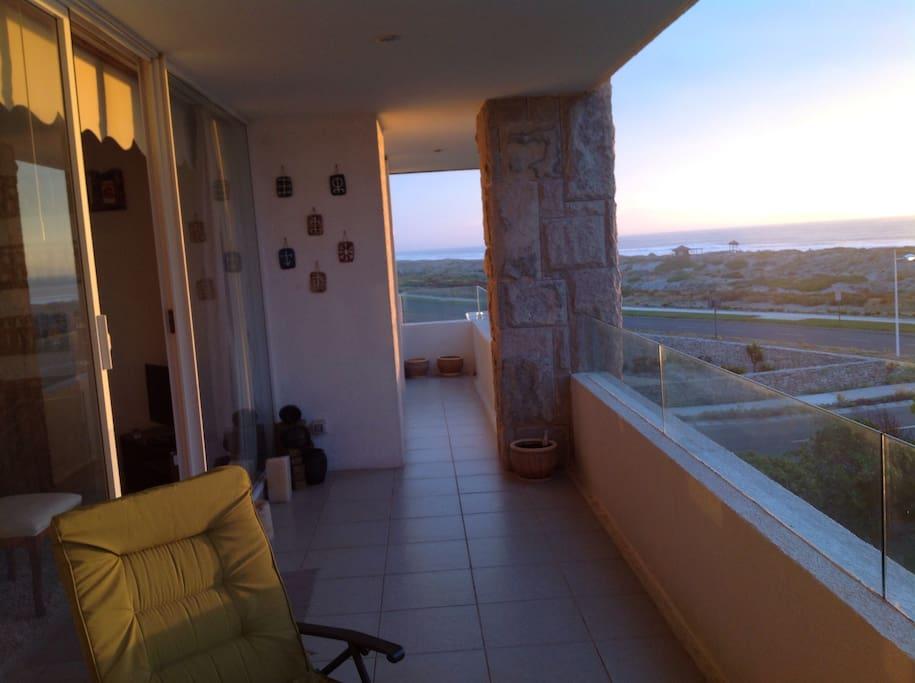 Terraza con hermosa vista a La Serena y Coquimbo