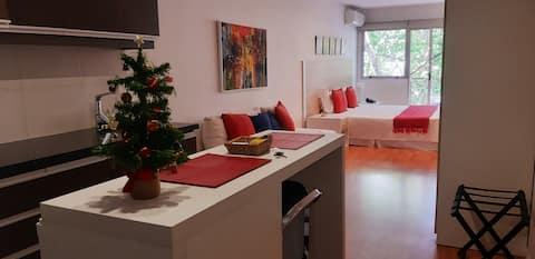Beautiful studio near Pocitos Beach