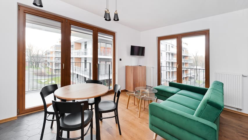 Rakowicka Podkowa, apartament 77 dla 4 osób