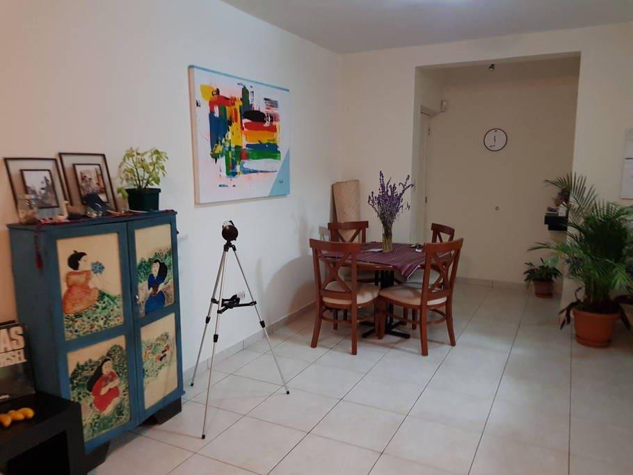 entrance & dining room