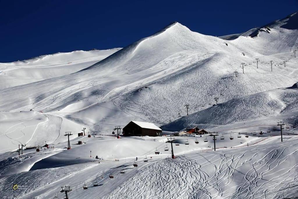 Panorama paseo a la nieve