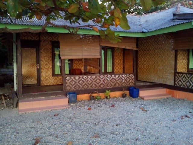 Villasunset kamar tepi pantai pemandangan laut