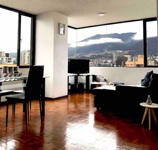 Hermoso dpto, 4 huesp en la Carolina Quito-Ecuador
