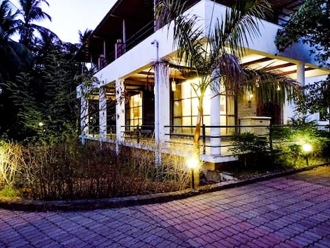 3BHK  VILLA WITH HUGE PRIVATE SWIMMING POOL