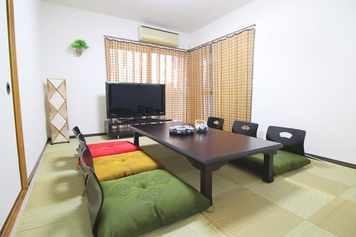 Spacious house! /Shinjuku Sta. 6 min by train