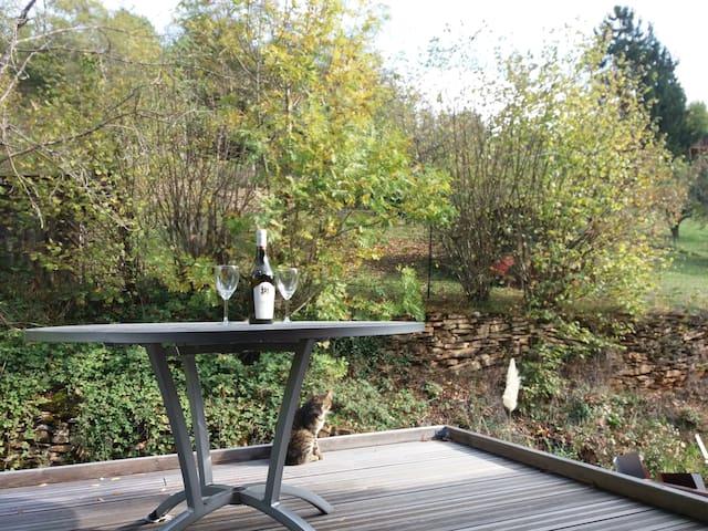 ARBOIS - Gîte aux Bambous - Studio duplex terrasse