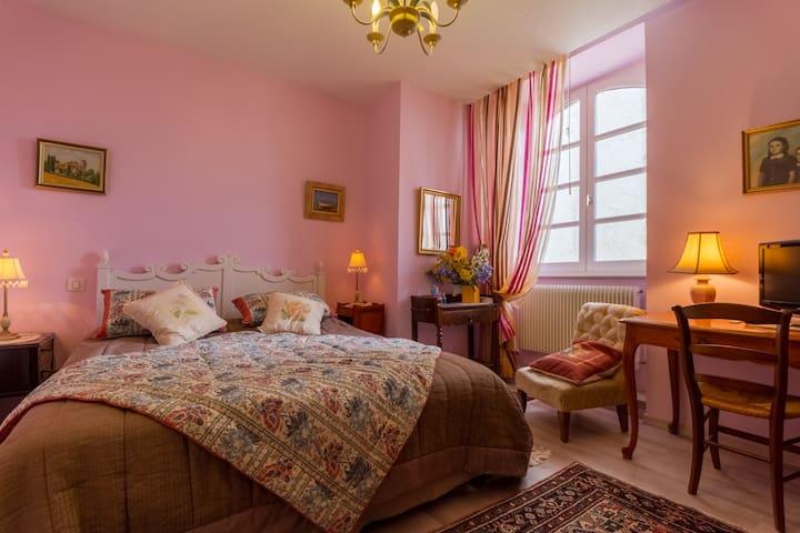 Chambre MAUVE Chambres d'Hôtes Saint Roch