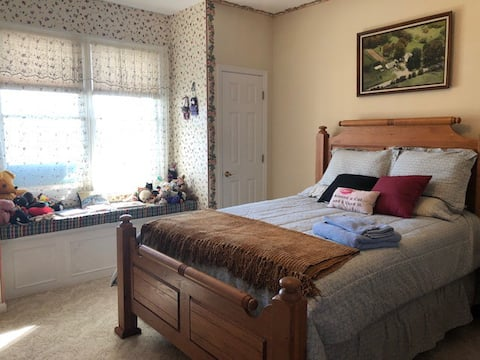 Dahlonega Home with a View - primary room