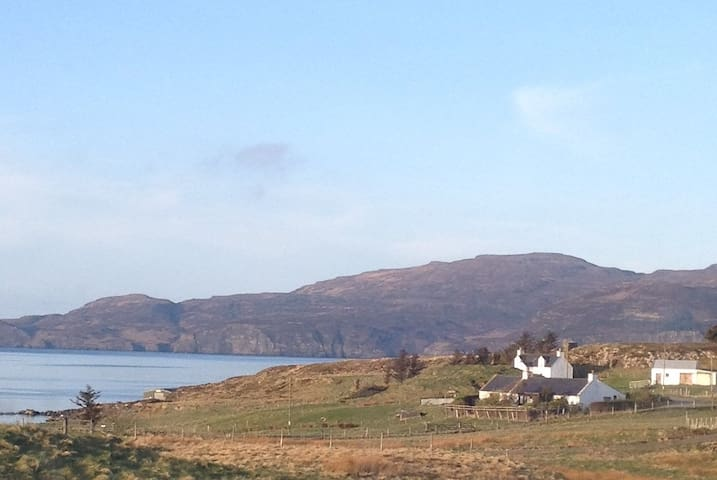 Double Ensuite in Family Home - Harlosh Dunvegan Isle of skye - Bed & Breakfast