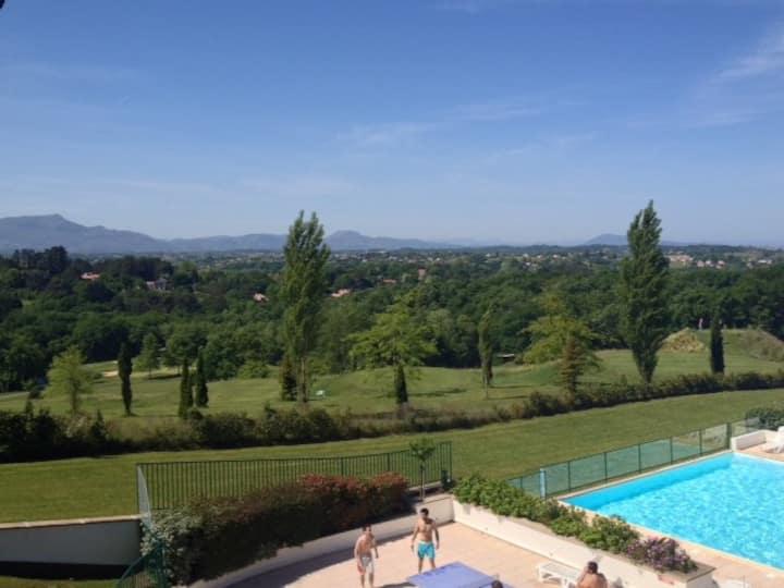 Vue splendide sur le Pays Basque