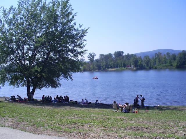 Srebrno jezero-Opusteno - Kisiljevo - Hus