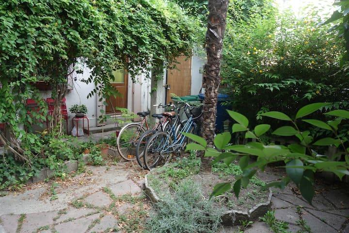 Studio chaleureux sur petit jardin - Toulouse