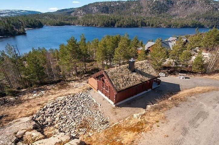 Vågsdalsfjorden hyttefelt - Mykland - Kabin