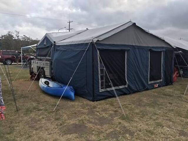 Cotter Camping