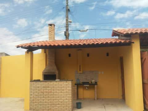 Agradável sítio no centro de Paracuru com internet